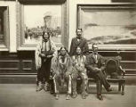 Delegation of Jicarilla Apache visiting the Corcoran Gallery of Art, Washington, District of...
