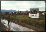 """Gonk Day Crowd After the Rain"", Hog Farm, Llano San Juan, New Mexico"