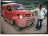 """The Big Red Truck"", Ojo Sarco, New Mexico"
