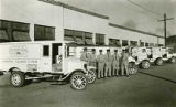 Staff of Santa Fe Electric Laundry, Ray A. Kersting far right, New Mexico