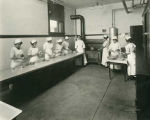 Domestic science class, Blind Institute, Alamogordo, New Mexico