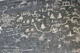 Petroglyhs in Petrified Forest National Park, Arizona