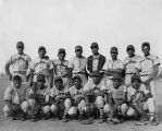 Second place baseball team from San Juan Pueblo, All Indian World Series, New Mexico