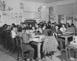 10th grade biology class, Santa Fe Indian School, New Mexico
