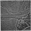 Aerial view of El Cerrito village, New Mexico