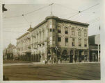 Barnett Building, formerly J.H. O'Reilly Company, corner of 2nd and Central, Albuquerque, New...
