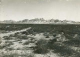 Organ Mountains near Las Cruces, New Mexico
