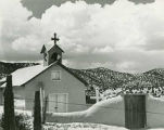 Church, Cundiyo, New Mexico