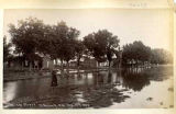 Flooded street, Roswell, New Mexico