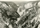 Grand Tetons, Artist Point, Yellowstone 1st August 1940