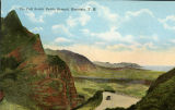 """The Pali Scenic Battle Ground, Honolulu, T. H."""
