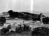 Photographic album, 19th century:  #527 Firenze Panorama di Fiesole (Panorama of Fiesole)