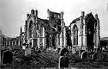 Melrose Abbey, from S.E.  407., from the album, Untitled
