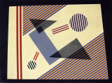 Trilogy-Dissonance (Left), Watercolor No. 29,  1943