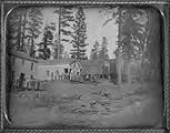 Saxton's Hotel (unidentified Mother Lode town in California)