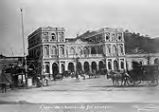 Gare du chemin de fer central (Central Train Station) from the album, South American Views; 44...