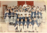 First Holy Communion; probably Pietro Paladin top row right