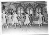 Ballet class performing onstage at Cimarroncita Ranch Camp