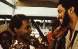 Maurice Bishop and unidentified man, Grenada