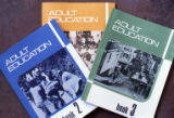 "Three ""Adult Education"" books, Grenada"