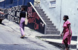 Graffiti on wall, Grenada