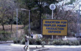 "Sign: ""Education for People's Power Production Defense,"" Grenada"