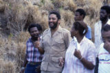 Maurice Bishop and unidentified people, Grenada