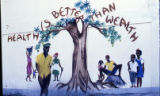 "Gouyave Health Center mural, ""Health is Better than Wealth,"" Grenada"