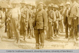 Mexican soldiers delivering US prisoners taken at the Battle of Carrizal to US Army officers at...