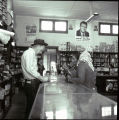 Shoppers at Cline's Post