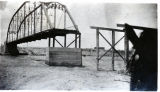 Construction of Animas river bridge