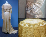 Campbell family wedding dress
