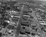 Aerial view of Farmington, NM