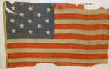 Thirteen star United States flag