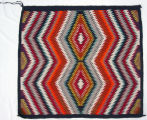 Red Mesa style saddle blanket