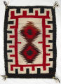 Navajo weaving from Starr Lake trading post