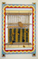 Will Evans loom with weaving