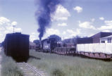 Engine and boxcars