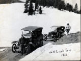 Cars on Wolf Creek Pass