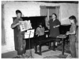 Wife of a Homesteader with her WPA Music Class