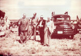 Daniel T. Kelly and others breaking ground for the Museum of International Folk Art, Santa Fe, N.M.