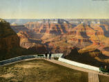 Grand Canyon From El Tovar Parapet