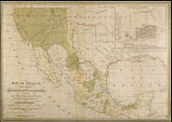 Map of Mexico including Yucatan and Upper California