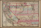 Johnson's California. Territories of New Mexico, Arizona, Colorado, Nevada, and Utah