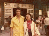 Debra Martinez with unidentified man