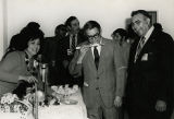 Manuel Lujan, Jr. with Pete Villa and unidentified woman