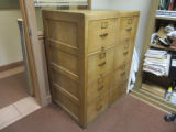 Pair of file cabinets, HPC-0039/HPC-0040