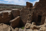 Stonework structure at Pueblo Bonito, Chaco Canyon