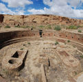 Chetro Ketl Kiva at Chaco Canyon