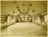 Fort Stanton Decorated Hall